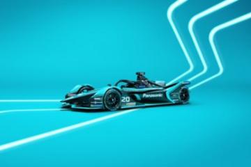 捷豹车队正式揭晓I-TYPE 4电动方程式赛车