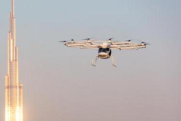 吉利投资的Volocopter空中出租车成功飞越新加坡滨海湾