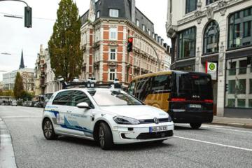 大众e-Golf自动驾驶测试车已在路上,预计2025年正式投入市场