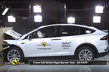 Model X荣获欧洲五星级NCAP评级