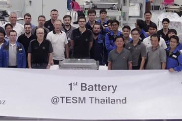 梅赛德斯奔驰开始在曼谷本地生产电池