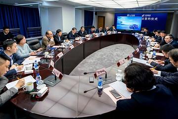 上汽集团与中国邮政合作 开展整车采购、快递物流业务