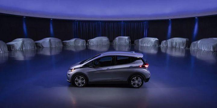 通用汽车宣布,2025年前在全球范围推30款新电动汽车