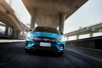 福特全球首款先锋纯电SUV Mustang Mach-E北京车展中国首秀