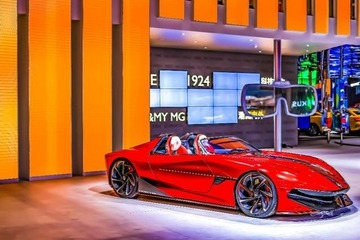 MG纯电超跑新玩法:车型量产用户说了算