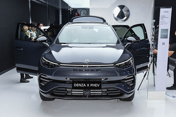 新车图解 | 7座中型SUV腾势X 插电混动版车型百公里加速4.3s