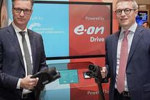 自带超大容量电池 大众联手E.On推便捷式充电桩