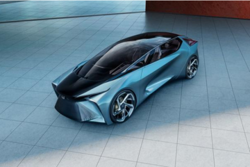 雷克萨斯纯电动概念车LF-30于2019东京车展全球首发