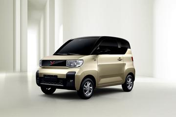 酷似日本K-CAR,五菱首款四座新能源车曝光!