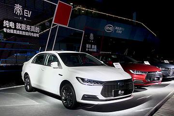 全新秦EV正式上市,补贴后售价12.99-13.99万元
