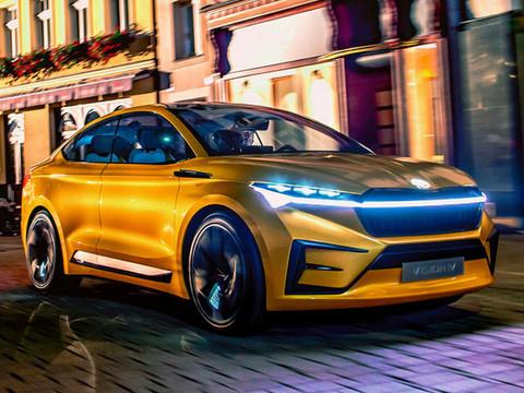 斯柯达将推纯电SUV明年亮相/续航可达500km-图1