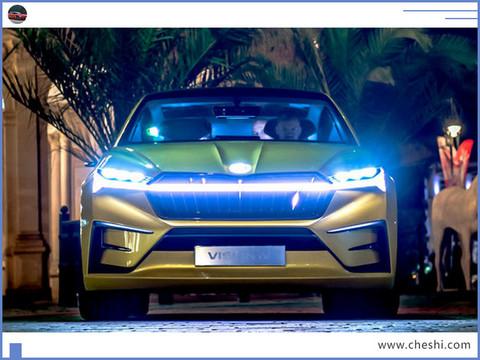 斯柯达将推纯电SUV明年亮相/续航可达500km-图2