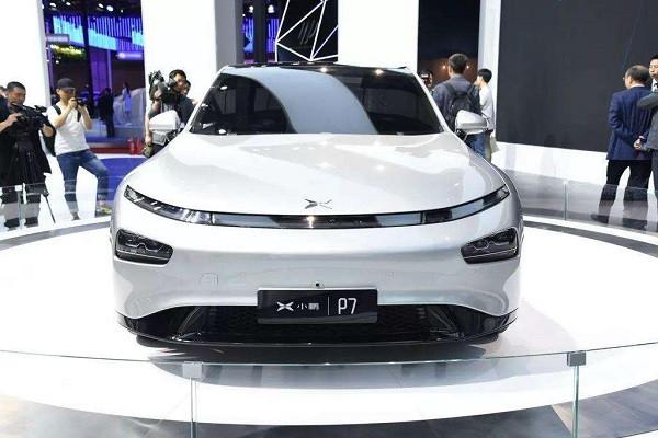 小鹏P7,广州车展