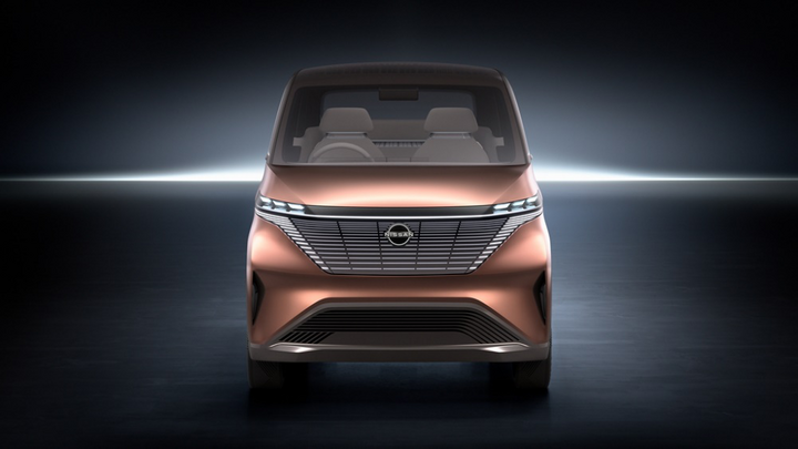 日产加快电动化步伐,IMk纯电概念车正式发布