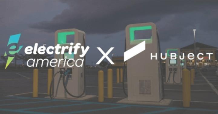 電動汽車,黑科技,前瞻技術,Electrify America,即插即付錢,汽車充電支付,Hubject充電支付,汽車新技術