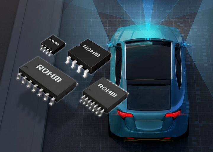 罗姆推出超强抗噪比较器 适用于汽车系统传感器应用