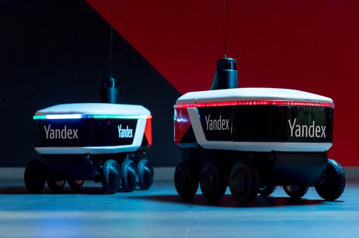 自动驾驶,Yandex无人驾驶送货