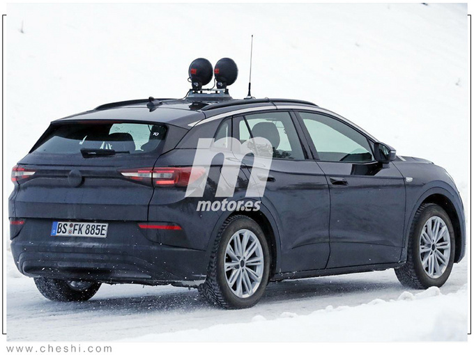 大众全新纯电跨界SUV谍照 续航550km明年开售-图5