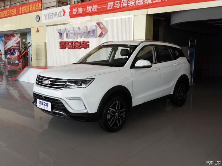 野马汽车 博骏 2019款 1.5L 手动精英型