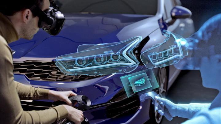 现代起亚,VR虚拟研发程序
