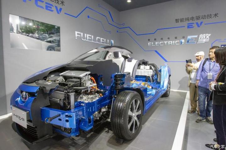 明年初投产 丰田向中企供燃料电池部件