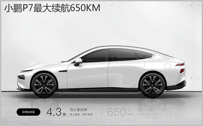 综合性能媲美百万级纯电标杆 小鹏P7对比Model S-图7