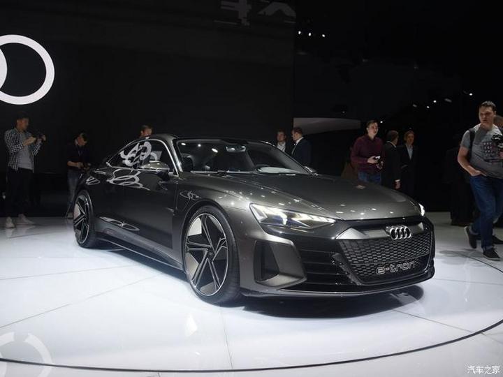 2020年亮相 奧迪E-tron GT將推RS版本