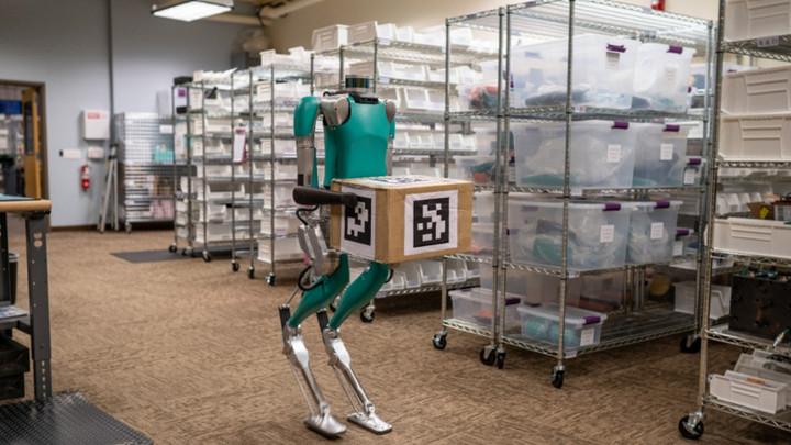 黑科技,前瞻技术,福特,福特Digit机器人,福特Agility Robotics