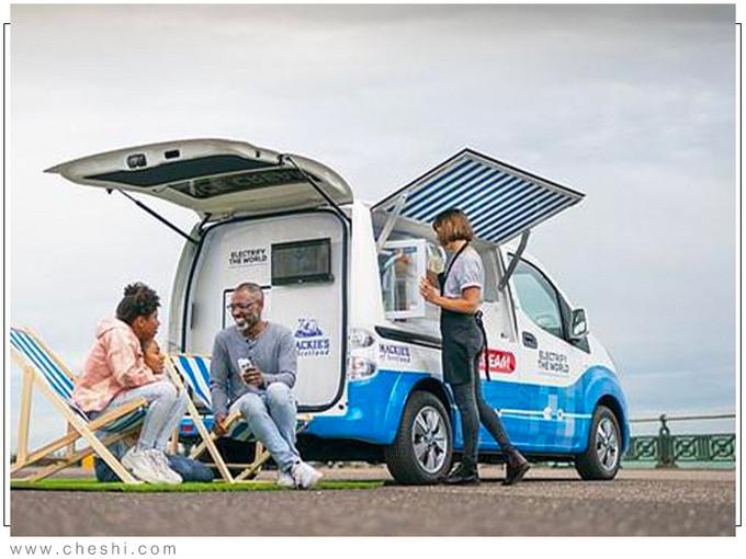 日产多款黑科技亮相CES居然还有冰激凌贩卖车-图3