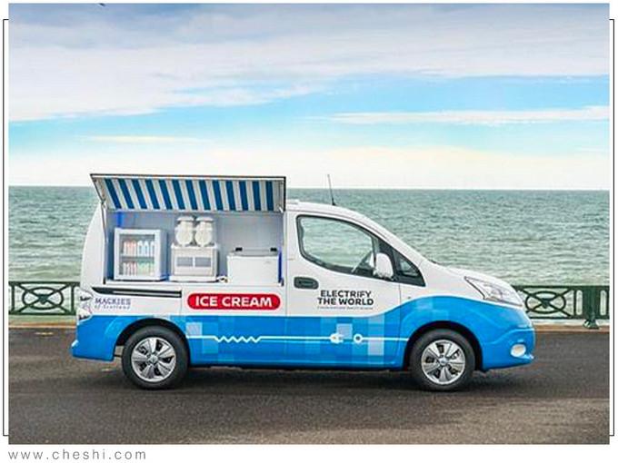 日产多款黑科技亮相CES居然还有冰激凌贩卖车-图2