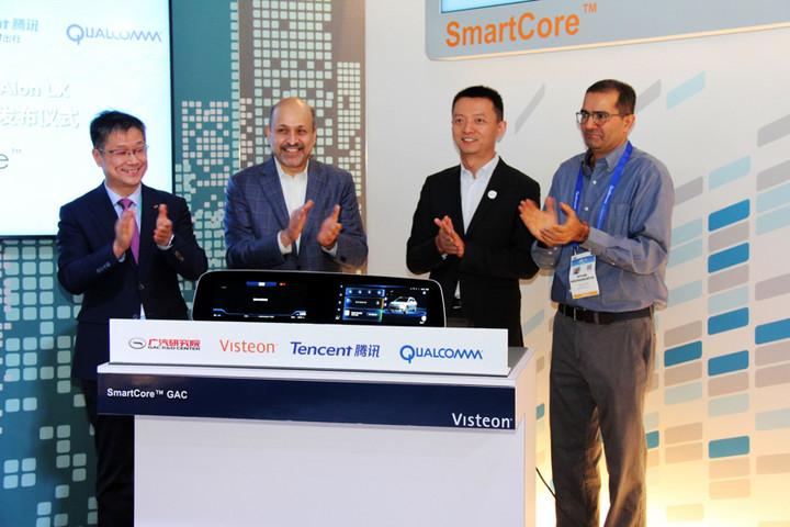 并购合作,黑科技,前瞻技术,伟世通腾讯,伟世通广汽,伟世通SmartCore域控制器