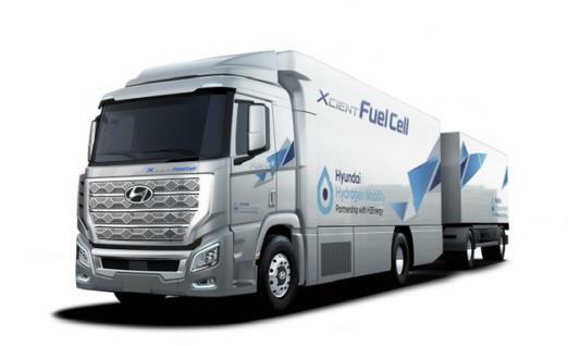佛吉亚储氢系统将配套现代卡车