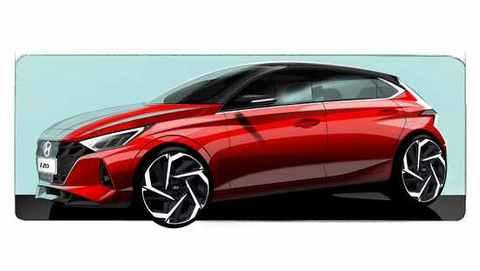预计3月海外亮相 现代i20发布新车预告图