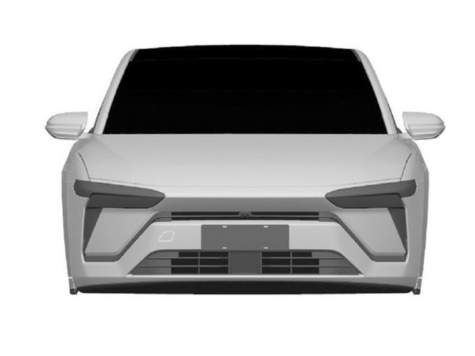 蔚来首款轿车实拍曝光竞争特斯拉国产Model 3-图1