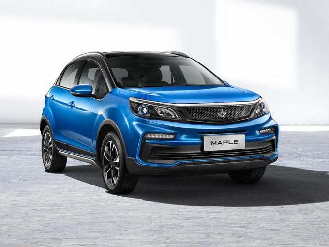 吉利全新枫叶品牌曝光纯电SUV下月将预售-图1