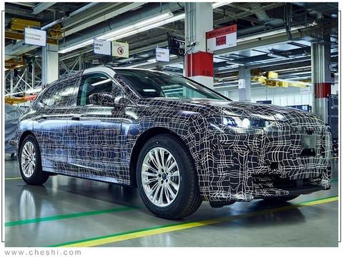 宝马新电动SUV信息曝光 前脸格栅真的太大了-图2