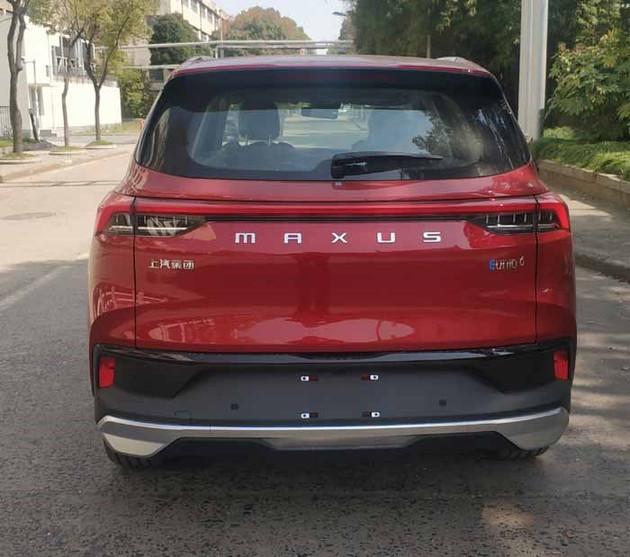 上汽大通EUNIQ 6申报图曝光 提供纯电及插电车型