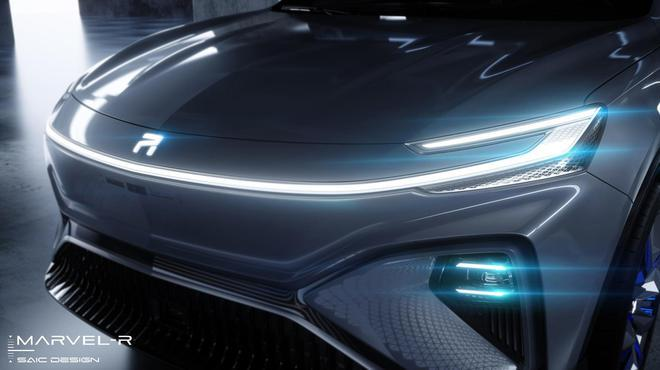 L3自動駕駛/5G技術雙雙量產 榮威MARVEL-R整車外觀首曝