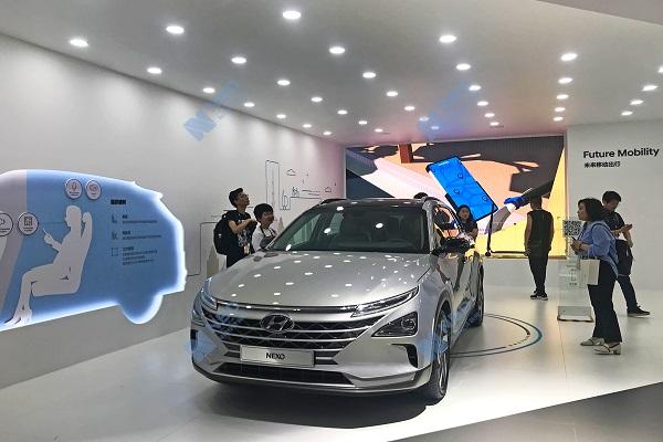 现代对外首推氢燃料商用车 瞄上中国市场