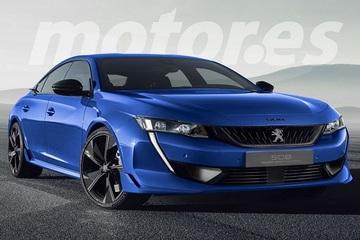 标致508推运动版车型 搭1.6T混动造型更精致