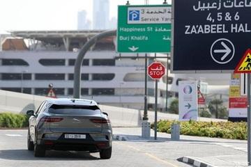迪拜开跑 无人驾驶捷豹I-PACE上路测试
