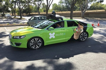 AutoX获深圳第一张自动驾驶路测牌照