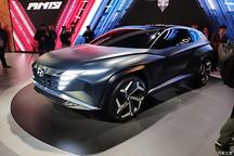 2019洛杉矶车展:现代Vision T概念车
