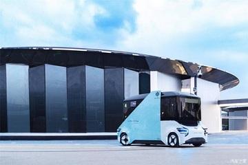 华人运通纯电无人驾驶智能巴士官图发布