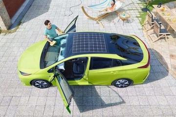 太阳能充电 丰田为普锐斯提升充电效率