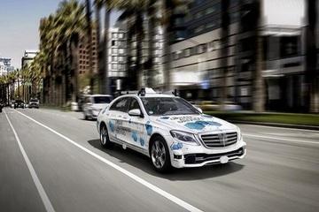英特尔无人车有新进展 奔驰S级开始Robotaxi测试