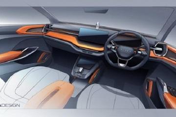 斯柯达发布紧凑型概念车内饰预告图