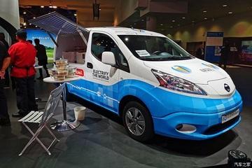 2020 CES:日产e-NV200概念车实拍解析