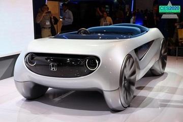 2020 CES:本田Augmented Driving概念车发布