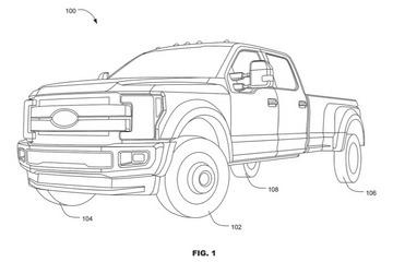 福特F系列皮卡专利:或采用跑车的四轮转向技术
